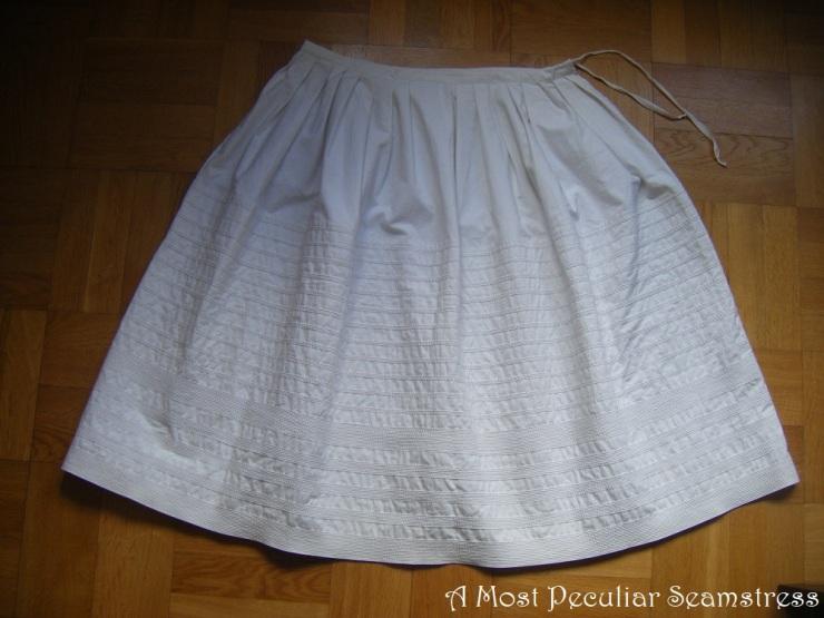 corded petticoat flat AMPS