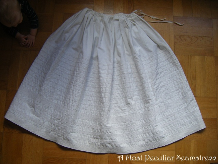 corded petticoat pulled AMPS