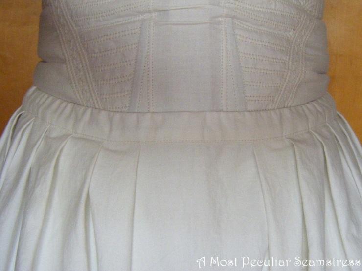 corded petticoat waist