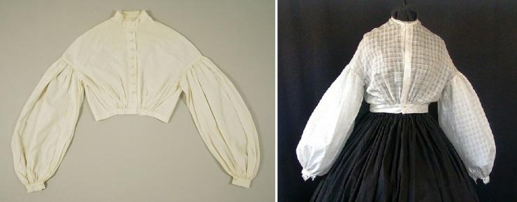 Garibaldi blouses